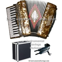 Rossetti 30 Key Piano Pro Accordion - All Colors