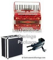 Rossetti 5-Switch Piano Accordion In 7 COLORS