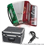 Del Sol 1307-RG 5 Switch Piano Accordion