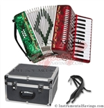 Del Sol CM-7004-RG 25 key Piano Accordion