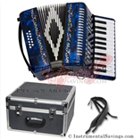 Del Sol CM-7005-DB 25 key Piano Accordion