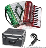 Del Sol CM-7006-RG 25 key Piano Accordion