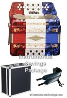Rossetti 3-Switches Accordion - All Colors