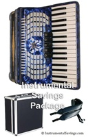 Rossetti 72 Bass, 34 Key 5-Switch Piano Accordion