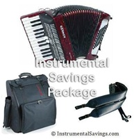 Hohner Bravo II 48 Tremolo Bass Piano Accordion