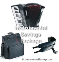 Hohner 80 Continental Tremolo Bass Piano Accordion