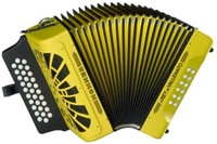 Hohner El Rey Del Vallenato Accordion