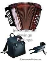 Hohner Corona II Diatonic Accordion