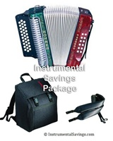Hohner Corona II Classic Diatonic Accordion