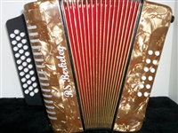 3 ROW DIATONIC BUTTON ACCORDION NEW RS BERKELEY ADG